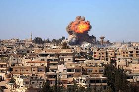 敘利亞南部城市德拉發生爆炸