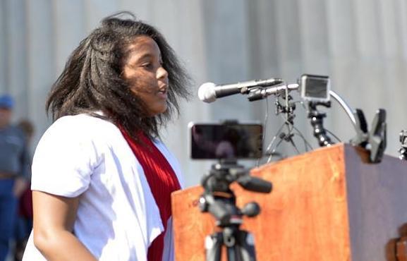 美國百名小學生背誦馬丁·路德·金的《我有一個夢想》