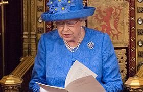 """英國女王表示將確保""""脫歐""""後穩定"""