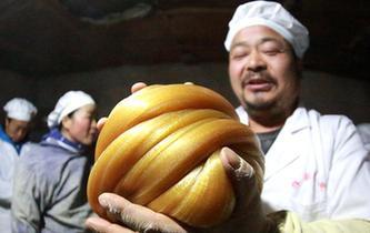 江西峽江:絲糖飄香年味濃