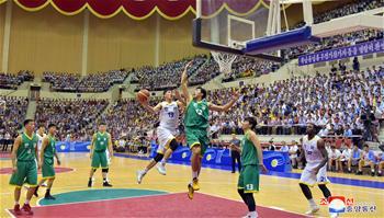 北南統一籃球賽在平壤舉行