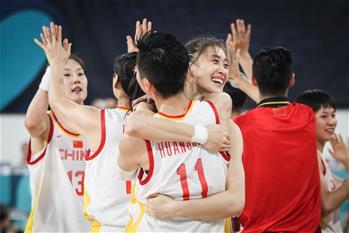女籃世界杯:中國隊晉級八強