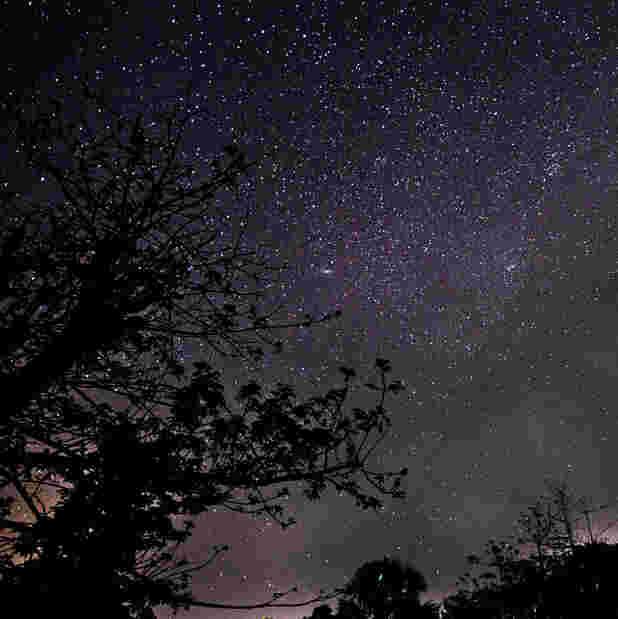 想起童年的滿天繁星