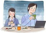 吃飯看手機,多吃15%