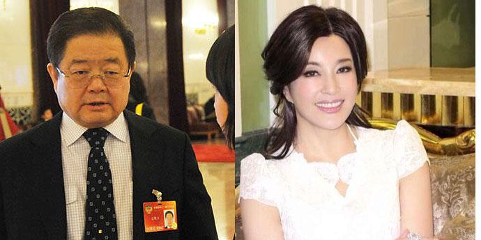 刘晓庆第四任丈夫政治身份图片