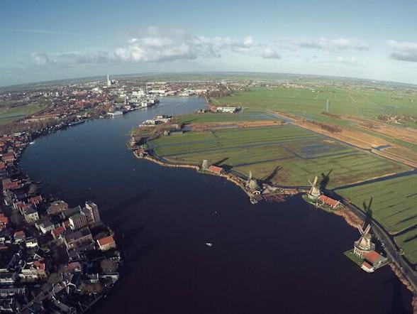 航拍阿姆斯特丹