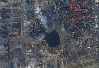 天津 爆炸核心區