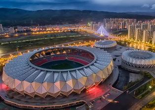 俯瞰西宁体育场