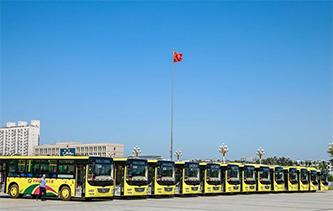 更便捷!新疆呼圖壁48輛新公交車正式運營 快來感受下吧