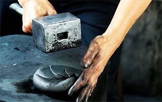 攝影師實拍安徽歙縣徽墨制造現場 十一道手工技藝精雕細琢