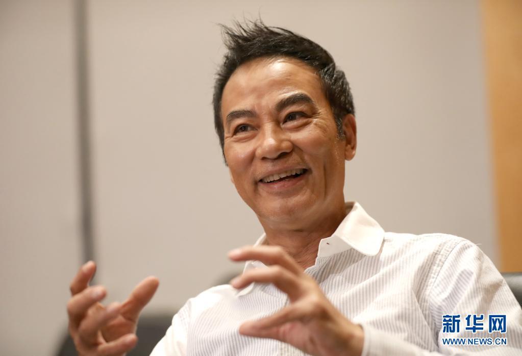 香港演员任达华:好电影以情动人 永远传递正能量