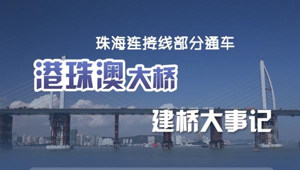 图说:港珠澳大桥建桥大事记