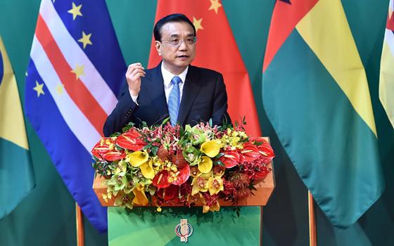 李克強宣布從葡語國家進口商品及中國公民出境旅遊新利好