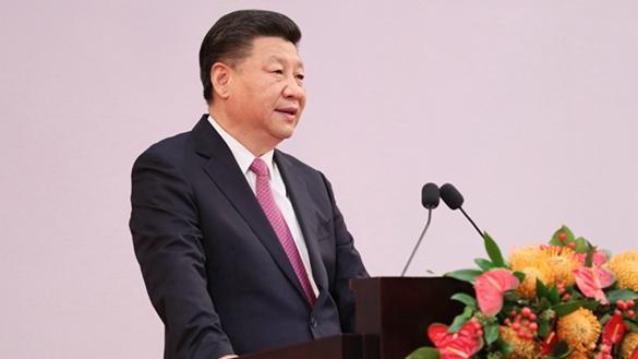 習近平出席慶祝香港回歸祖國20周年大會並發表重要講話