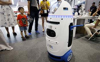 工作居家兩相宜 機器人展會顯身手