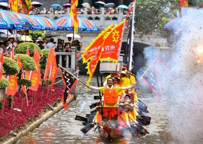 廣州舉行端午龍舟勝景活動