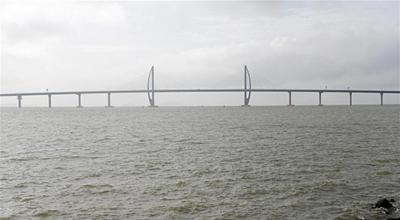 港珠澳大桥三次经受强台风检验