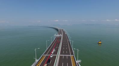 十四秒看港珠澳大桥雄姿