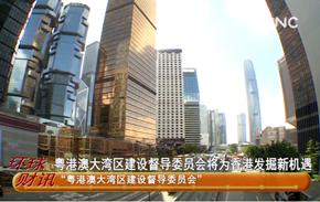 香港成立大灣區建設督導委員會
