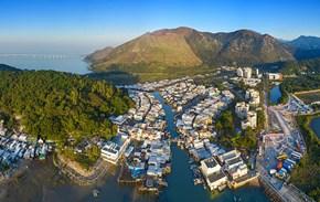 """香港大澳渔村:海边的""""浮城""""往事"""