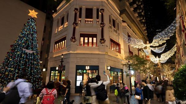 英國倫敦著名聖誕燈飾登陸香港街頭