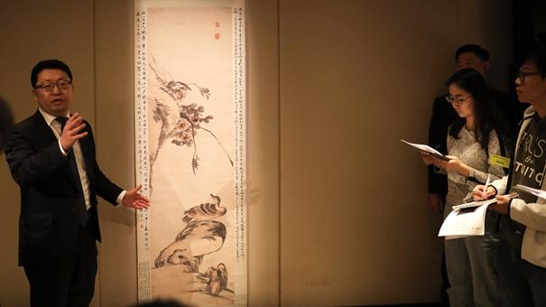香港苏富比春拍举槌在即 将呈献百余幅明清书画