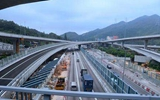 """香港香园围公路通车在即 有助完善大湾区""""一小时生活圈""""布局"""