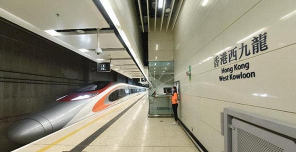 广深港高铁香港段通车至今已接载逾1400万人次旅客出入香港