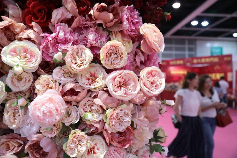 香港婚紗展及結婚服務博覽開幕