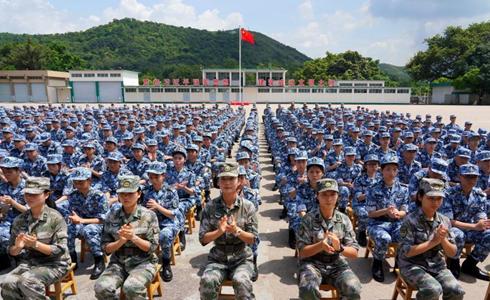 第十五屆香港青少年軍事夏令營開營