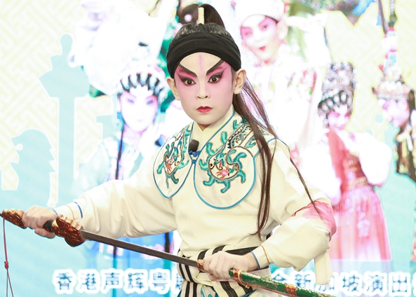 香港粤剧新秀狮城首秀赢赞誉