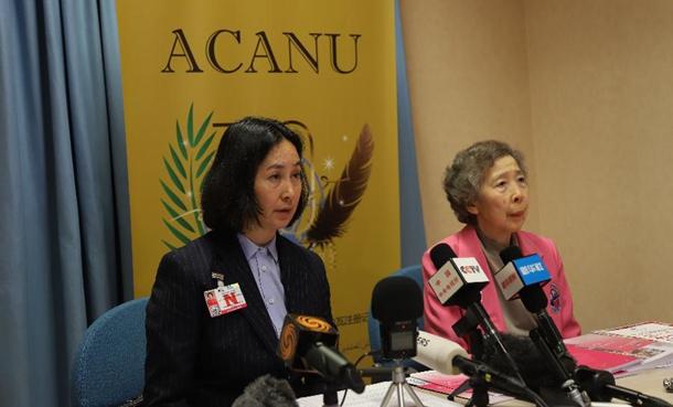 香港妇女代表谴责香港暴力示威者