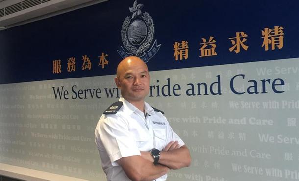 """守护香港,永不放弃——访香港警察""""光头刘Sir"""""""