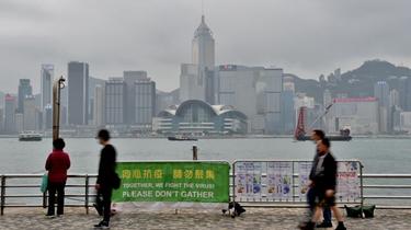 香港4月訪港旅客人次同比大跌近100%
