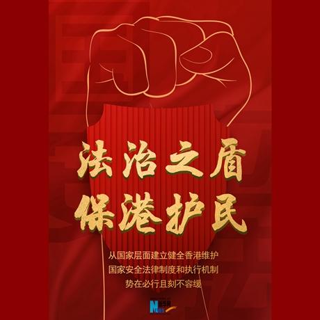 海報:法治之盾 保港護民