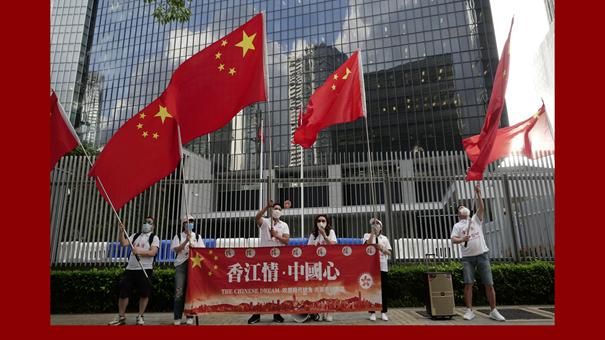 香港特区立法会三读通过《国歌条例草案》
