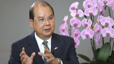 張建宗:香港國安立法是撥亂反正的良機