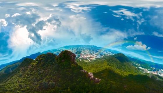 香港推出虚拟现实影片 向全球推广本地旅游业