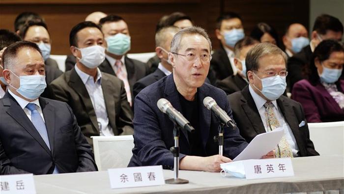 香港社會各界:全國人大常委會決定有利于香港長治久安