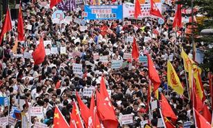 """香港各界譴責""""港獨""""候任議員"""