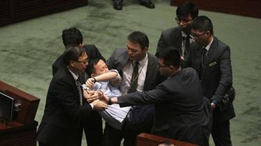 香港立法會修改議事規則提上議程