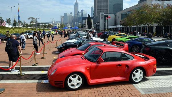 香港汽車會慶祝創會100周年