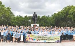 香港青年和祖国共成长