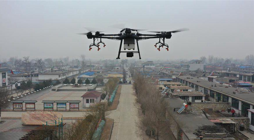 河北:農村立體消殺作業 助力疫情防控