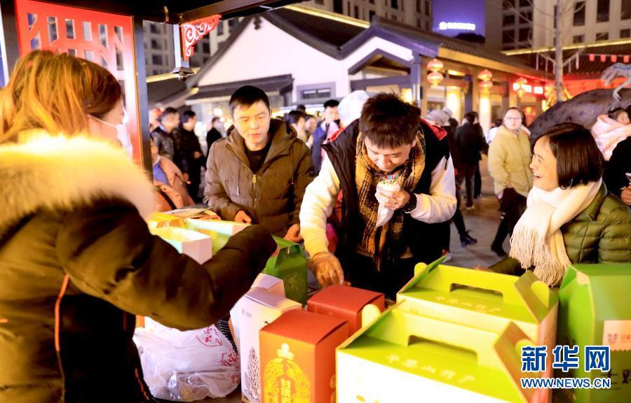 四川華鎣:開設農產品夜市助增收
