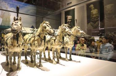 秦始皇兵馬俑首次在泰國展出