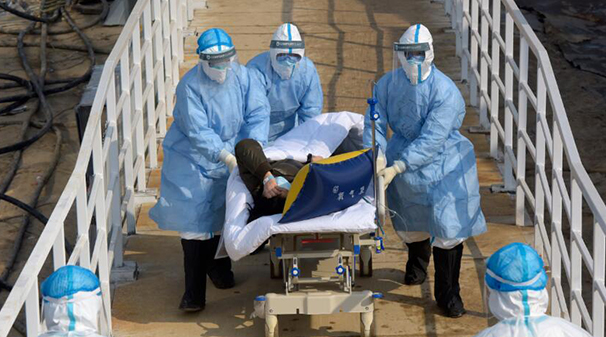 火神山醫院收治患者總數超過900人
