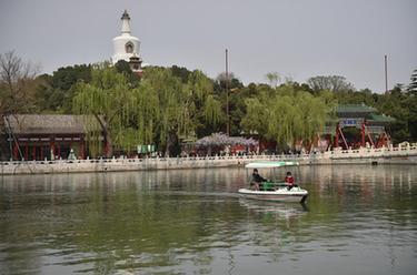 北京:北海公園遊船有序開航