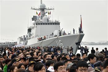 多國海軍艦艇開放日活動在青島舉行