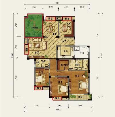 住房设计户型图
